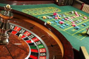 roulette wheel table chips